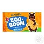 Печиво Roshen Zoo-Boom з молоком 68г