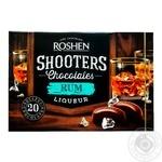 Цукерки Рошен Shooters 150 г з ромовим лікером