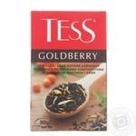 Чай Тесс 90 г чорн. Goldberry