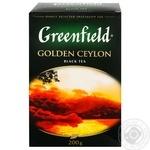 Tea Greenfield Golden ceylon black 200g