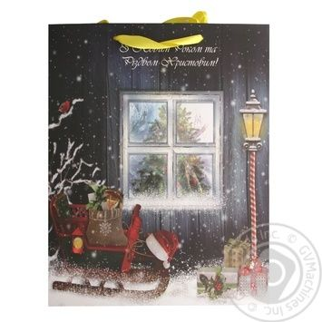 Happycom Christmas Paper Package 32*26cm - buy, prices for Tavria V - image 1