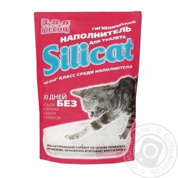 Наполнитель Silicat для кошачьего туалета 3.8л - купить, цены на Таврия В - фото 1