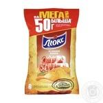 Чипсы Люкс со вкусом бекона 183г