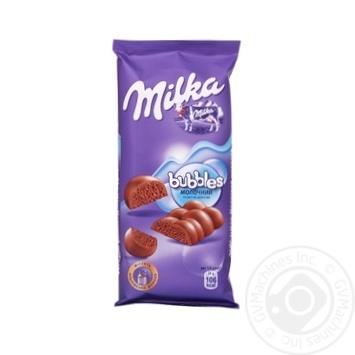 Milka Bubbles Porous Milk Chocolate 80g