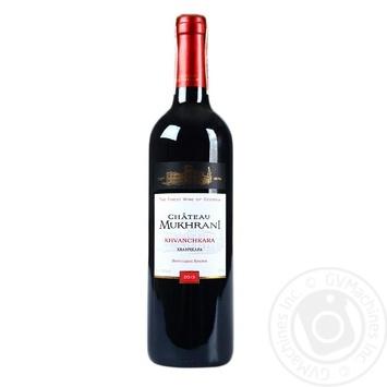 Вино Chateau Mukhrani Khvanchkara красное полусладкое 11.5% 0,75л