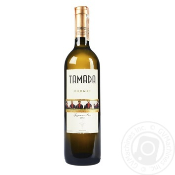 Tamada Mcvane white dry wine 13,5% 0,75l - buy, prices for Novus - image 1
