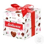 Lubimov Sweets in Milk Chocolate with Nut Praline 208g - buy, prices for Novus - image 1
