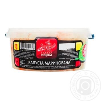 Salad cabbage Chudova marka pickled 400g - buy, prices for Furshet - image 1