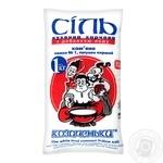 Соль Козаченьки каменная  кухонная пищевая йодированная 1кг