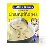 Cуп пюре Gallina Blanca из шампиньонов 62г - купить, цены на Фуршет - фото 1