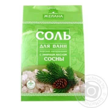 Zhelana Bath Salt Pine Sea 500g - buy, prices for Furshet - image 1