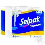 Selpak Paper Towels White 6pcs. - buy, prices for MegaMarket - image 1