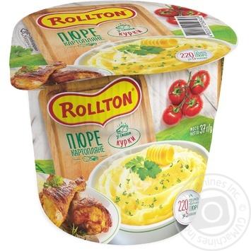 Пюре Роллтон картофельное со вкусом курицы 37г - купить, цены на Таврия В - фото 1
