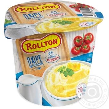 Пюре Роллтон картофельное со вкусом сливок 37г - купить, цены на Таврия В - фото 1