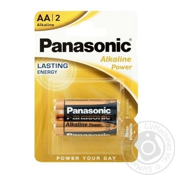 Panasonic Battery LR6 Alkaline Power АА  2pcs - buy, prices for EKO Market - photo 1