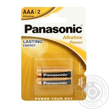 Батарейки Panasonic LR03 Alkaline Power ААА 2шт - купити, ціни на ЕКО Маркет - фото 1