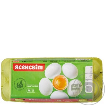 Yasensvit Chicken Eggs С1 10pcs - buy, prices for Novus - image 6