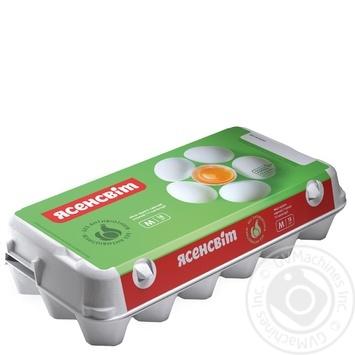 Яйца куриные Ясенсвит С1 18шт - купить, цены на Novus - фото 1