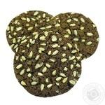 Печиво Американер шоколадне з насінням