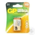 GP Ultra Batteries 9V 1pc