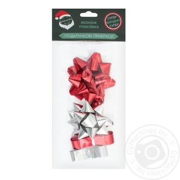 Украшения Файнопак для подарков 4шт - купить, цены на Таврия В - фото 1
