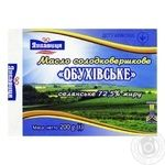 Butter Lukavitsa sweet cream 72.5% 200g Ukraine - buy, prices for Furshet - image 1