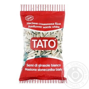 Семечки TATO подсолнечника белое  80г - купить, цены на МегаМаркет - фото 1