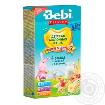 Мюслі Bebi Junior вишня банан молоко 200г - купити, ціни на Фуршет - фото 1