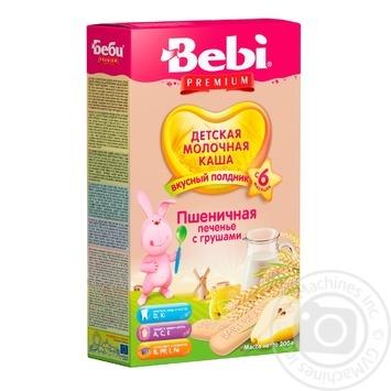 Каша детская Беби Печенье с грушами для полдника молочная пшеничная сухая быстрорастворимая с 6 месяцев 200г - купить, цены на МегаМаркет - фото 1