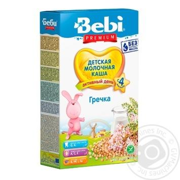Каша Bebi Premium молочная гречневая 200г - купить, цены на Фуршет - фото 1
