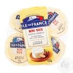 Сир Ile de France Mini Brie м'який 5x25г