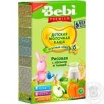 Bebi Premium For Children From 6 Months Apple-Pumpkin Rice Milk Pap 200g - buy, prices for Furshet - image 1