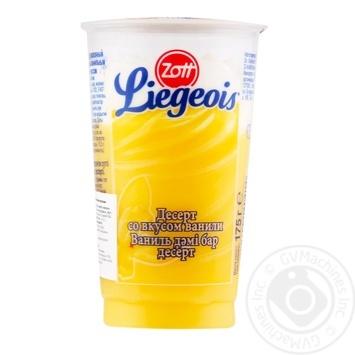 Zott Lezhua milky with vanilla dessert 175g - buy, prices for MegaMarket - image 1