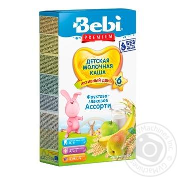 Bebi Premium Fruit-grain assorted porridge 250g - buy, prices for Furshet - image 1