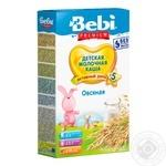 Каша Bebi Premium молочная овсяная 250г - купить, цены на Фуршет - фото 1