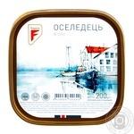 Оселедець Flagman філе-шматочки в олії 200г Україна