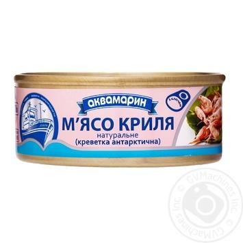 Мясо криля Аквамарин натуральное 100г - купить, цены на Novus - фото 1