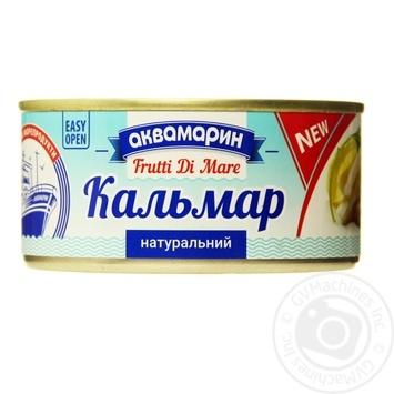 Кальмар Аквамарин натуральный 185г - купить, цены на Novus - фото 1