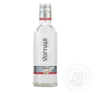 Khortytcya Sribna Proholoda Special Vodka 40% 0,2l - buy, prices for Novus - image 1
