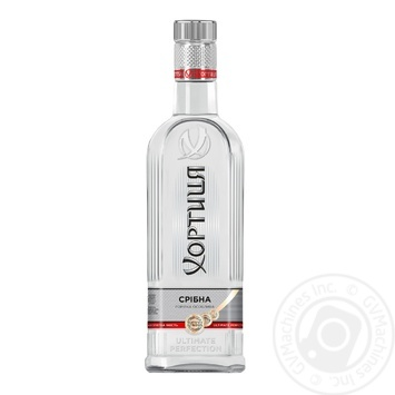 Водка Хортица Серебряная Прохлада 40% 0,5л - купить, цены на Novus - фото 3