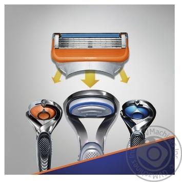 Картриджи для гоління Gillette Fusion змінні 4шт - купити, ціни на Novus - фото 3