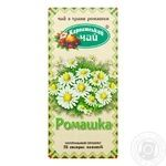 Herbal tea Karpatsky Chay Camomile teabags 20x1g - buy, prices for MegaMarket - image 1