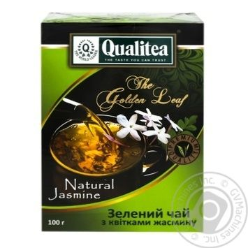 Quality Jasmine green loose tea 100g - buy, prices for MegaMarket - image 1