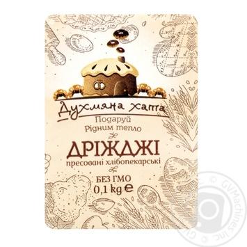 Dukhmiana khata pressed for baking yeast 100g - buy, prices for MegaMarket - image 1