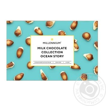 Millenium chocolate candy 170g - buy, prices for Auchan - image 1