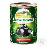 Dolyna Bazhan Olives with Bone 425g - buy, prices for Furshet - image 1