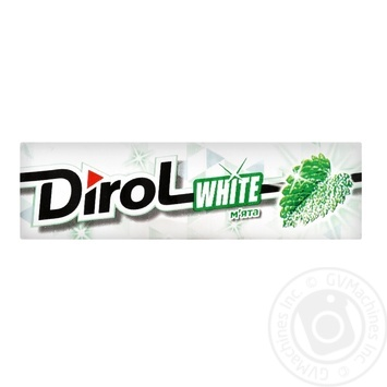 Dirol White Mint Chewing Gum 14g - buy, prices for Tavria V - image 1