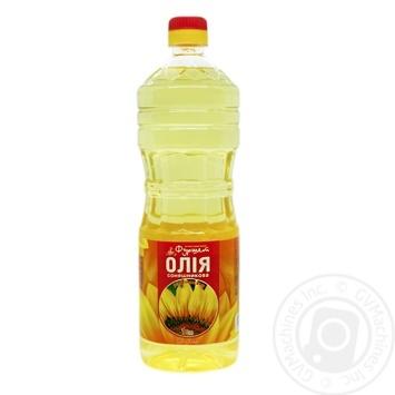 Олія соняшникова Фуршет рафінована 1л - купити, ціни на Фуршет - фото 1