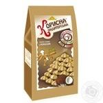 Печиво Корисна Кондитерська пісочне з кокосом без цукру 300г