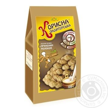 Korisna Konditerska Shortbread Cookies with Baked Milk without Sugar 300g - buy, prices for CityMarket - photo 1